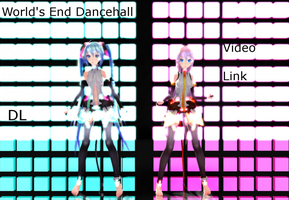 [MMD] World's End Dancehall- Concert Motion DL by khftw