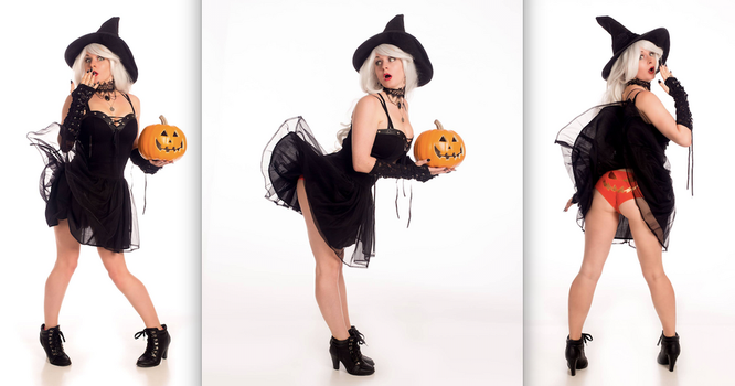 Pin Up Witch Bundle by MandaCowled