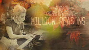 Million Reasons / Joanne / Autumn Wallpaper by Panchecco