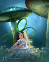 Alice in the moonlight by PrincessMagical
