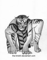 Tigress - 04-DrawEverythingJune2 by The-Tinidril