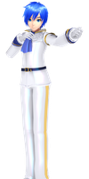 Project Diva Future Tone (Alike) Cendrillon Kaito by Terrathde