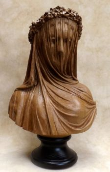 Veiled lady (oak) by AllenNecchi