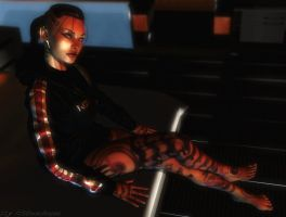 Mass effect wallpaper 20 - Jack 8 by ethaclane