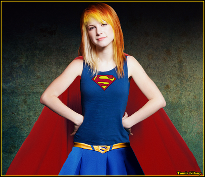 Hayley Williams - Supergirl by KCobra