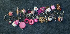 Treats and Sweets Charm Bracelet 2 by mintdawn