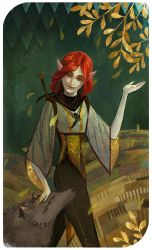 The Sun: Scarlet Lavellan by Paperwick