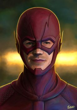 The Flash by Russtiel
