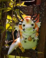 koi carp dragon - art doll by Furrykami-creatures