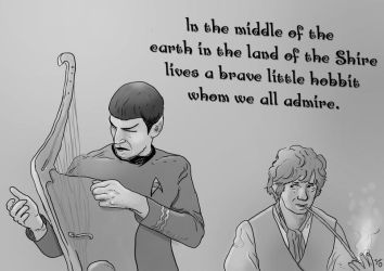The Ballad of Bilbo Baggins by crazyfoxmachine