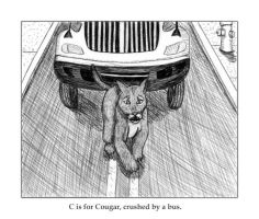 C is for Cougar by Melaninny