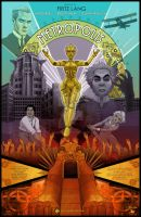 Metropolis Poster by clementmeriguet