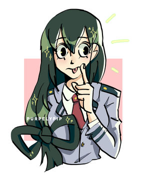 tsuyu best frog! by PurpelyPip