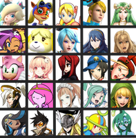 Sergy's Waifu Chart V2 by Sergy92