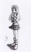 Anime Girl by Shell19