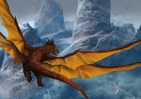 Galewing Dragon by Taylor-payton