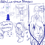 Live stream bloopers by NatalieGuest
