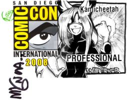 SDCC Herobadge-Whatever Woman by kamicheetah