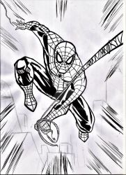 spiderman ink by nic011