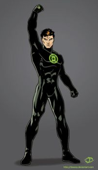 Green Lantern costume redesign by Tloessy