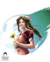 Final Fantasy VII: Aerith Gainsborough by nime080