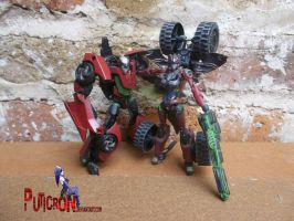 transformers customs gobots smallfoot by puticron
