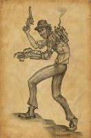 Ira Shaw, Steampunk ne'er-do-well by countersunk81