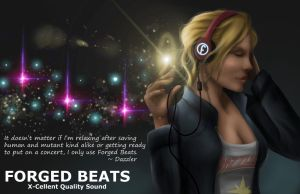 Dazzler - Forged Beats 2016 by Art-Of-Nathan-Wright