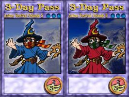 AFO5 3day pass by damon-gear