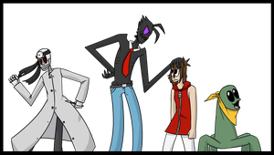 FWAC main cast in my style by Chradi