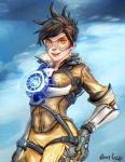 Tracer - Overwatch by FrancisLugfran
