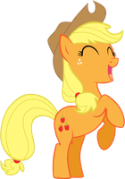 Apple Jack Vector by PonyFiedArt