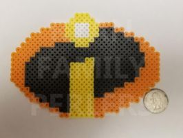 The Incredibles Symbol Perler by jrfromdallas
