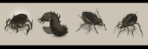 insect drones by SebastianWagner