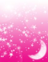 FREE: Pink Moon Background by Magical-Mama