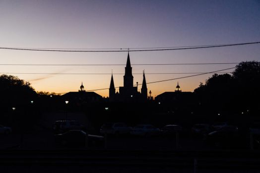 Sunset in New Orleans by Inarita