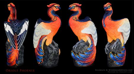 Oriole Phoenix by EchoesLight