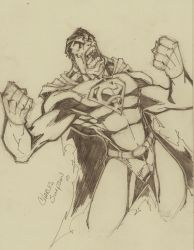 10min superman sketch by charlessimpson