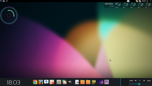 Jelly Bean Linux Desktop by joaomedeiros95