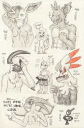 Don't Break the Chain 37 (Drawings #334-#341) by BrownieComicWriter