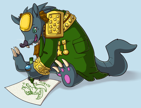 Twitch Loves To Color by RinTheYordle