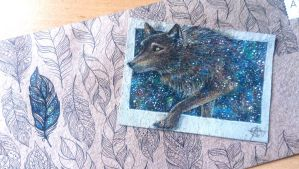 170814-19 ACEO- I walk with the stars by Crateris