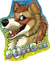 Shiibii Badge by Rageaholic7898