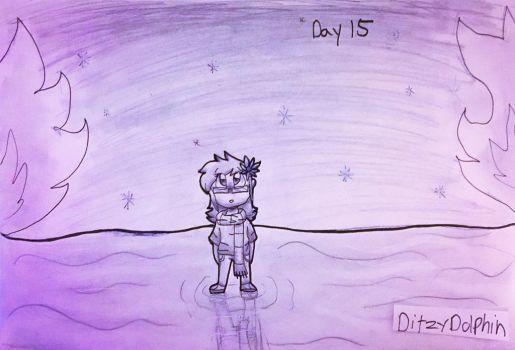 Inktober Day 15: Mysterious by DitzyDolphin