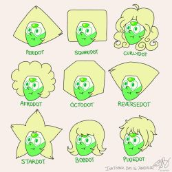 SU- Peridots New Hair Styles by AliAvian