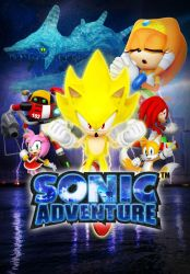 Sonic Adventure 19th Anniversary Poster by Nibroc-Rock