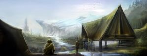 Chapter 2: Desolated Village by SkyrisDesign