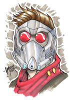 Star Lord (Guardians of the Galaxy) by RecklessHero