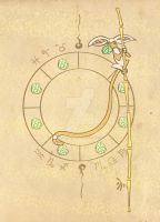 Astrolabe Momo by johannamation