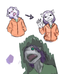 sharky doodles by AmethystLion